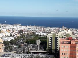 Hotel fotoğraf: Vivienda con vistas al mar y ciudad