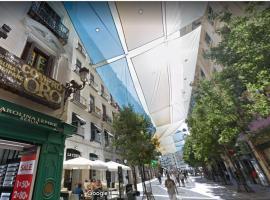 Zdjęcie hotelu: grande apartamento cerca del plaza del sol 3 dormitorios