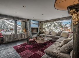 Hotel photo: Courchevel Magnifique appartement sur la piste B