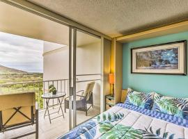 Hotel photo: Makaha Studio w/Mtn & Ocean Views - 1 Mi to Beach!