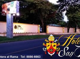 Hotel near Juigalpa