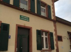 Hotel fotografie: Pension Lefebvre