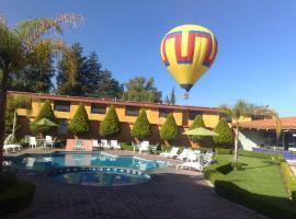 Hotel near Teotihuacan
