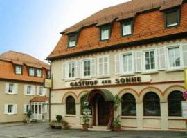 A picture of the hotel: Gasthof zur Sonne