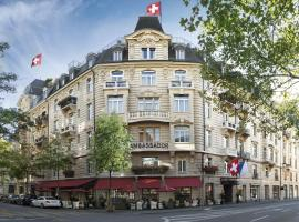 A picture of the hotel: Small Luxury Hotel Ambassador Zurich