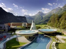 Hotel Photo: Aqua Dome 4 Sterne Superior Hotel & Tirol Therme Längenfeld