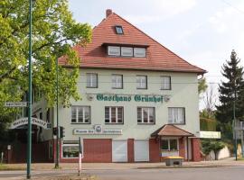 Hotel photo: Gasthaus & Hotel Grünhof
