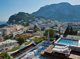 Hotel photo: Capri Tiberio Palace