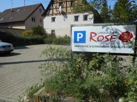 Hotel photo: Landgasthof Rose