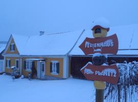 Hotel photo: Ferienhaus Planetz