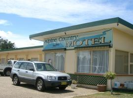 Фотография гостиницы: Alpine Country Motel