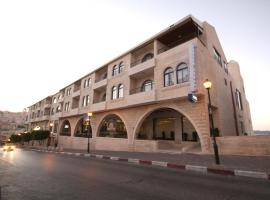 Hotel near Palestinian territories
