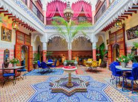 A picture of the hotel: Riad bleu du Sud