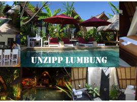 Hotel Photo: Unzipp Bungalows Gili Trawangan