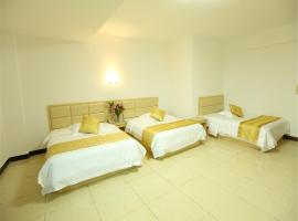 Hotel Photo: Guangzhou New Baiyun Airport Aviation Bright Pearl Apartment Hotel