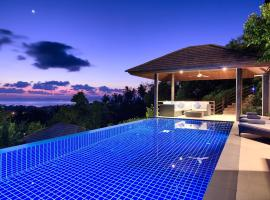 A picture of the hotel: Sunset Heights - Multi Level Seaview Villa