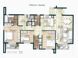 Photo de l'hôtel: Three Bedroom Apartment - Centrium IMPZ