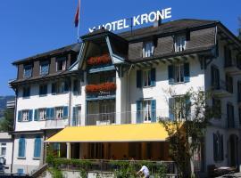 Hotel photo: Kultur-Hotel Krone Giswil