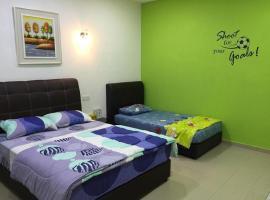 Hotel photo: Greenpeace Homestay Kluang
