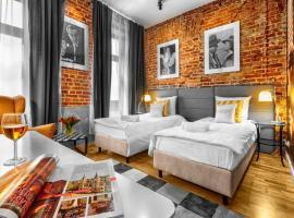 Ξενοδοχείο φωτογραφία: Cinema Rooms - Piotrkowska