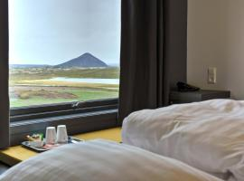 Hotel near Mývatn