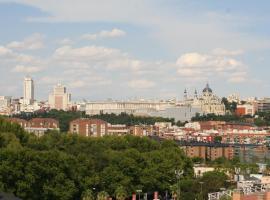 Hotel fotografie: Skyline Madrid Apartment