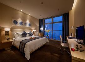Фотография гостиницы: Shijiazhuang Nuo Hua Ting Hotel Apartment