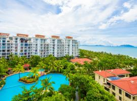 A picture of the hotel: Sanya Lvchao Sea view Apartment