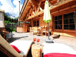 Hotel photo: Luxury Chalets Wiesenruh