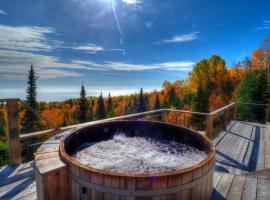 Hotel photo: Le Refuge - Les Chalets Spa Canada