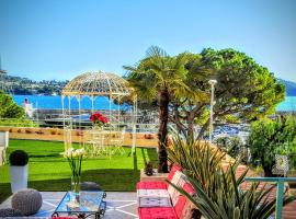酒店照片: Port Villefranche Terrace Apartment