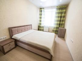 "A picture of the hotel: Apartment ""Berloga 55"" on Oktyabrskaya"