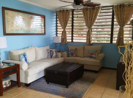 Hotel photo: Fully Air-Conditioned Beach Front Penthouse Apartment