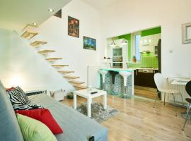 Hotel photo: Studio Apartment Green Wall