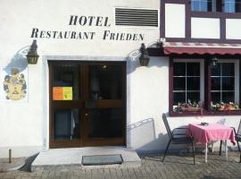 Hotel Photo: Hotel - Restaurant Frieden