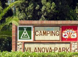 Hotel photo: Chalet Camping Vilanova Park 2