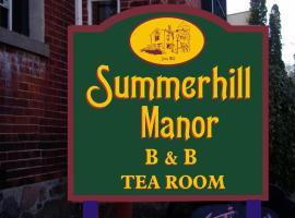 Hotel photo: Summerhill Manor Bed & Breakfast and Tea Room