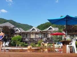 A picture of the hotel: Grandchariot Pension