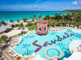 Hotel photo: Sandals Grande Antigua All Inclusive Resort and Spa - Couples Only