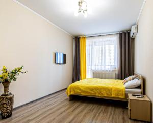 """Солнечные Апартаменты сети """"Rushouse"""" возле АКВАПАРКА, НАБЕРЕЖНОЙ и 5 минутах от ЦЕНТРА города"""