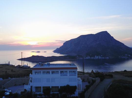 酒店照片: Studios Aeolos Kalymnos