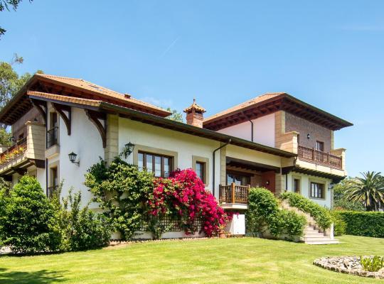 Хотел снимки: Hotel Posada La Robleda