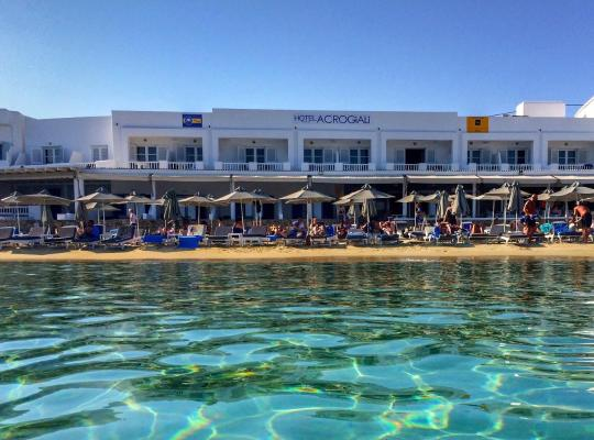 Képek: Acrogiali Hotel
