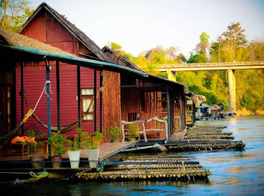 Képek: Boutique Raft Resort, River Kwai