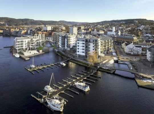 Fotografii: Apartment Porsgrunn Centrum