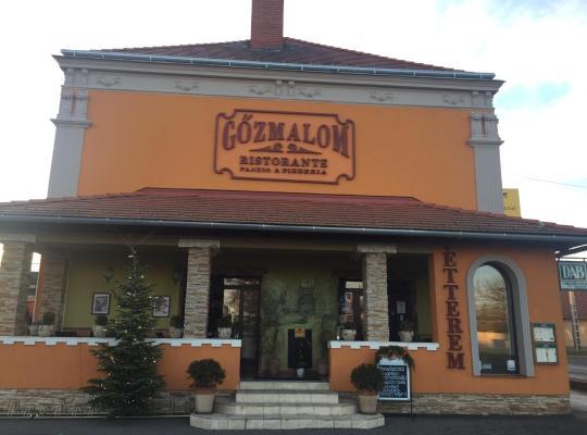 Хотел снимки: Gőzmalom Ristorante, Pension & Pizzéria