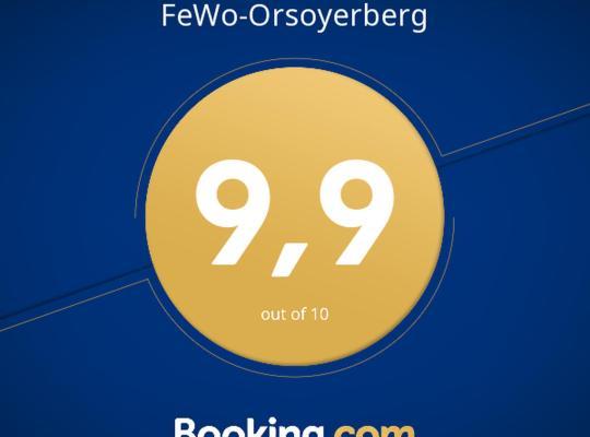 Fotos de Hotel: FeWo-Orsoyerberg