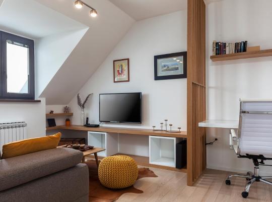Otel fotoğrafları: Charming Apartment Sany Zagreb