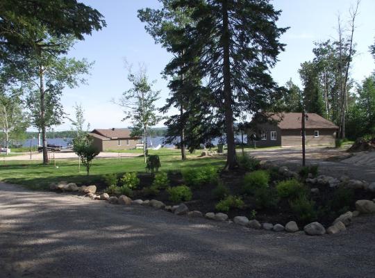 รูปภาพจากโรงแรม: Chalets Au Bord du Lac Kénogami