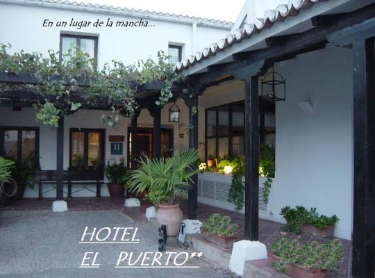 Хотел снимки: Hotel El Puerto